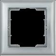 РГ-1-БС Рамка 1 мест. BOLERO серебряный IEK