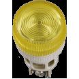 ENR-22(Ж) Сигнальная лампа для крепления на панели d-22 желтая с лампой накаливания 240V