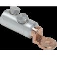 Алюминиевый механический наконечник со срывными болтами АМН 70-240 до 35 кВ IEK