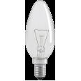 Лампа накаливания C35 свеча прозр. 40Вт E14 IEK