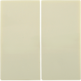 HB-2-0-БК Накладка 2 клав. BOLERO кремовый IEK