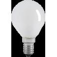 Лампа накаливания G45 шар матов. 40Вт E14 IEK