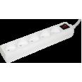 Удлинитель У5К-выкл. 5 мест 2Р/3метра 2х0.75мм2 10А/250 ИЭК