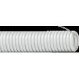 Труба ПВХ гибкая легкая гофрированная с протяжкой д 16 (самозатух. композиция)