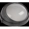 НПП1307 Светильник черный/круг ресничка 60Вт IP54 ИЭК