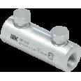 Алюминиевая механическая гильза со срывными болтами АМГ 10-35 до 1 кВ IEK