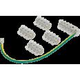 Набор колодок клеммных НК-2 (4xKE10.1+KE10.3, SV15.5) IEK