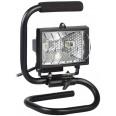 Прожектор переносной галогенный 150 Вт черный