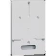 Панель для установки счетчика ПУ 1/0 1-фазн. (150х245х20мм) ИЭК