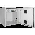 ITK Шкаф уличный 19` 9U 650x600, IP55 металл дверь, серый
