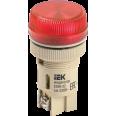 ENR-22(К) Сигнальная лампа для крепления на панели d-22 красная с лампой накаливания 240V