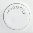 НС-1-1-ББ Накладка к светорегулятору BOLERO белый IEK