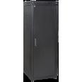 ITK Шкаф сетевой 19` LINEA N 18U 600х600 мм металлическая передняя дверь черный