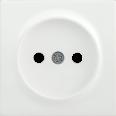 НР-1-0-ББ Накладка розетка без з/к BOLERO белый IEK