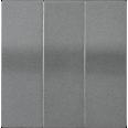 HB-3-0-БА Накладка 3 клав. BOLERO антрацит IEK