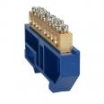 Шина нулевая с изолятором OptiKit BB-D-PE-DIN-4-6х9-желтый