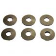 Комплект зажимов для алюминиевых шин ВА51-39-УХЛ3-КЭАЗ (кол-во тар шайб 6шт)