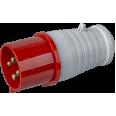 Вилка Navigator 14 288 NCA-SR024-32-380 переносная 32А 3P+PE IP44