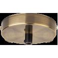 База потолочная Navigator 61 738 NFA-CR02-007 метал. черненая бронза