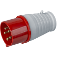 Вилка Navigator 14 289 NCA-SR025-32-380 переносная 32А 3P+N+PE IP44
