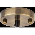 База потолочная Navigator 61 734 NFA-CR01-007 метал. черненая бронза
