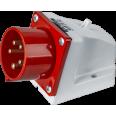 Вилка Navigator 14 320 NCA-SR515-16-380 стационарная 16А 3P+N+PE IP44