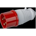 Вилка Navigator 14 285 NCA-SR014-16-380 переносная 16А 3P+PE IP44
