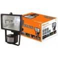 Прожектор ИО500Д (детектор) галоген.черный IP54 TDM
