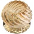 DLS-F113 G9 CHROME/AMBER Светильник декоративный встраиваемый ТМ `Fametto`, серия `Fiore`. Без лампы, цоколь G9. Основание металл, цвет хром. Отделка стекло, цвет янтарный.