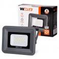 Светодиодный прожектор WFL-20W/06, 5500K, 20Вт, IP65