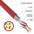 Кабель для пожарной сигнализации REXANT КПСВЭВнг(А)-LS 2x2x0,50 мм2 , бухта 200м
