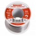 Припой с канифолью REXANT, 250 г, d2.0 мм, (Sn60, Pb40, Flux 2.2 %)