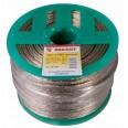 Трос стальной в ПВХ изоляции d=3.0 мм, катушка 200 метров REXANT
