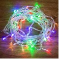Гирлянда `Твинкл Лайт` 4 м, прозрачный ПВХ, 25 LED, цвет Мультиколор