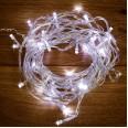 Гирлянда `Твинкл Лайт` 6 м, прозрачный ПВХ, 40 LED, цвет Белый