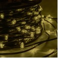 Гирлянда `LED ClipLight` 12V 150 мм, цвет диодов ТЕПЛЫЙ БЕЛЫЙ