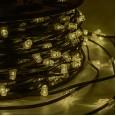 Гирлянда `LED Clip Light` 12V шаг 150 мм, цвет диодов ТЕПЛЫЙ БЕЛЫЙ, Flashing (Белый)