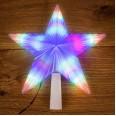 Фигура светодиодная `Звезда` на елку цвет: RGB, 31 LED, 22 см
