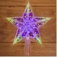 Фигура светодиодная `Звезда` на елку цвет: RGB, 10 LED, 17 см