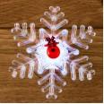 `Олень на снежинке` 9,5*9,5 см