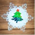 `Елочка на снежинке` RGB 5,5*5,5 см