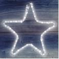 Фигура `Звездочка` цвет ТЕПЛЫЙ БЕЛЫЙ, размер 30*28 см NEON-NIGHT