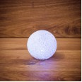 Фигура светодиодная `Снежок`, RGB, 8 см