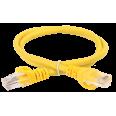 ITK Коммутационный шнур (патч-корд), кат.5Е UTP, 0,5м, желтый