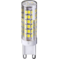 Лампа светодиодная (LED) капсульная d16мм G9 360° 6Вт 220-240В прозрачная нейтральная холодно-белая 4000К Navigator