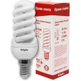 Лампа энергосберегающая (КЛЛ интегрированная) «спираль» d35мм E14 11Вт 230В тепло-белая 2700К/827 8000ч Navigator
