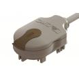 Отводной блок с кабелем 800 мм (H05Z1Z1F), L2/L3, 2P, 10A