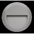 Светильник накладной c опал. рассеив-м cветодиод. (LED) 18x2Вт 100-240В IP65 серый 4000К для архитект. подсветки Jazzway