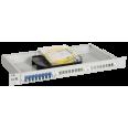 ITK 1U кросс укомплектованный: SC (Simplex) 4шт (OS2)