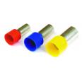 Наконечник-гильза 8 мм с изолир.фланцем 0,25 кв.мм желтый (НШВИ)